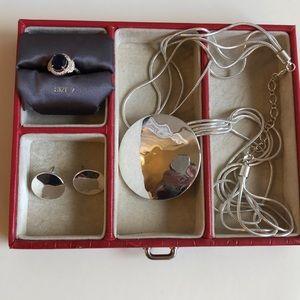 Nine West set necklace